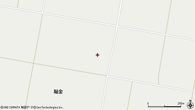 山形県東置賜郡川西町堀金1970周辺の地図