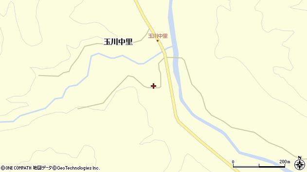 山形県西置賜郡小国町玉川中里51周辺の地図