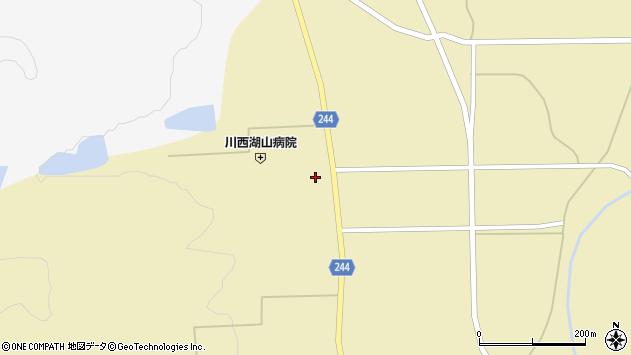 山形県東置賜郡川西町下奥田3796周辺の地図