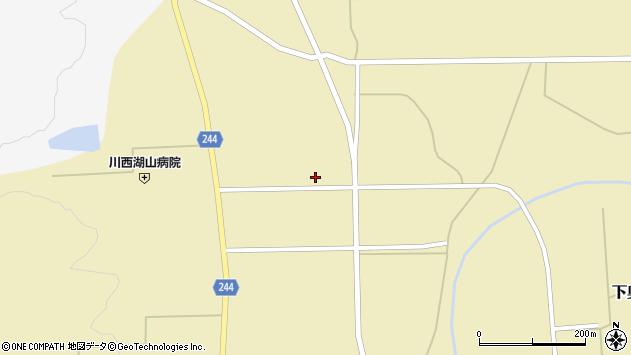 山形県東置賜郡川西町下奥田1022周辺の地図