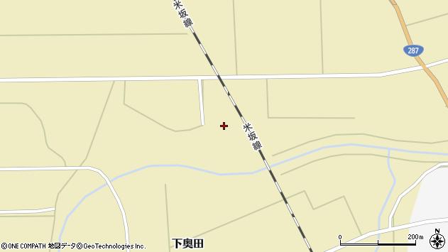山形県東置賜郡川西町下奥田578周辺の地図