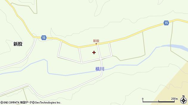 山形県西置賜郡小国町新股310周辺の地図