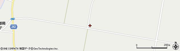 山形県東置賜郡川西町堀金1693周辺の地図