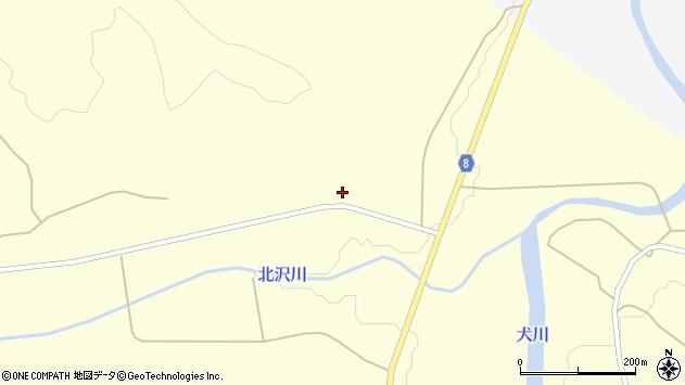 山形県東置賜郡川西町朴沢1654周辺の地図