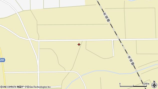 山形県東置賜郡川西町下奥田764周辺の地図