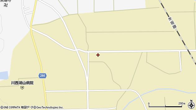 山形県東置賜郡川西町下奥田502周辺の地図
