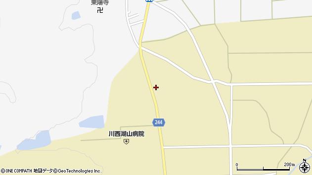 山形県東置賜郡川西町下奥田901周辺の地図