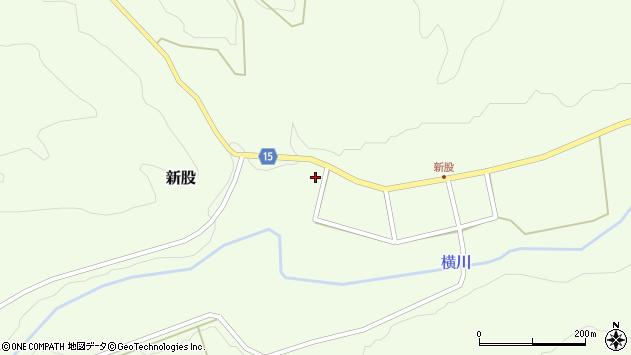 山形県西置賜郡小国町新股266周辺の地図