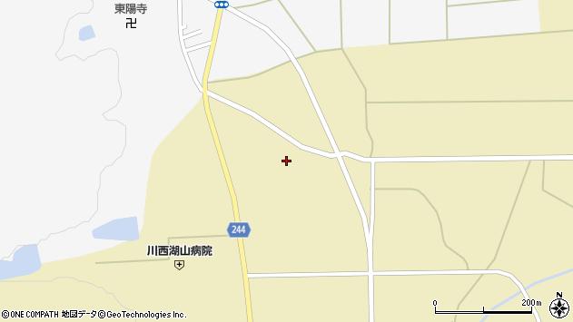 山形県東置賜郡川西町下奥田892周辺の地図