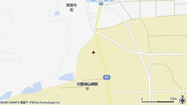 山形県東置賜郡川西町下奥田937周辺の地図