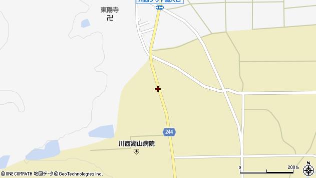 山形県東置賜郡川西町下奥田941周辺の地図