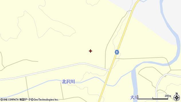 山形県東置賜郡川西町朴沢周辺の地図