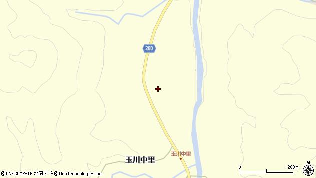 山形県西置賜郡小国町玉川中里164周辺の地図