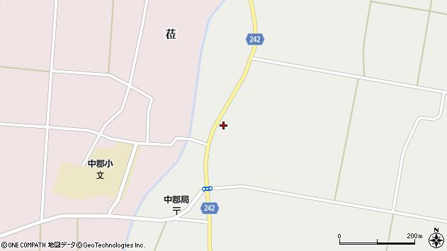 山形県東置賜郡川西町堀金2447周辺の地図