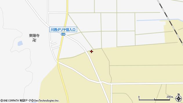 山形県東置賜郡川西町下奥田3990周辺の地図