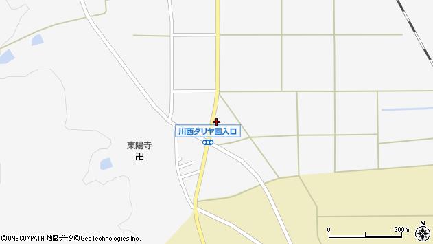 山形県東置賜郡川西町上小松2751周辺の地図