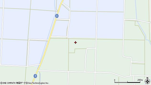 山形県東置賜郡川西町尾長島大谷地周辺の地図