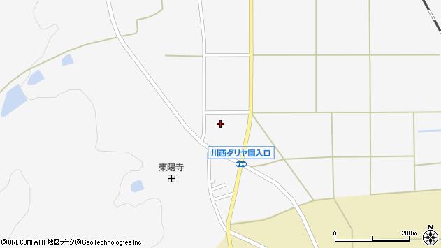 山形県東置賜郡川西町上小松2786周辺の地図