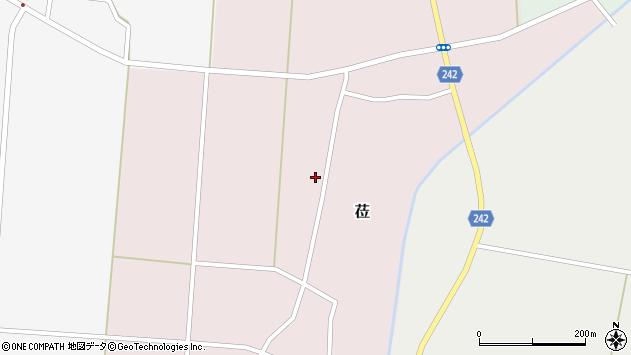 山形県東置賜郡川西町莅203周辺の地図
