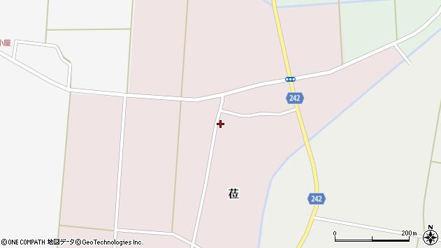 山形県東置賜郡川西町莅483周辺の地図