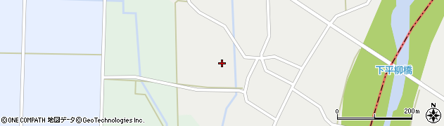 山形県東置賜郡川西町下平柳174周辺の地図