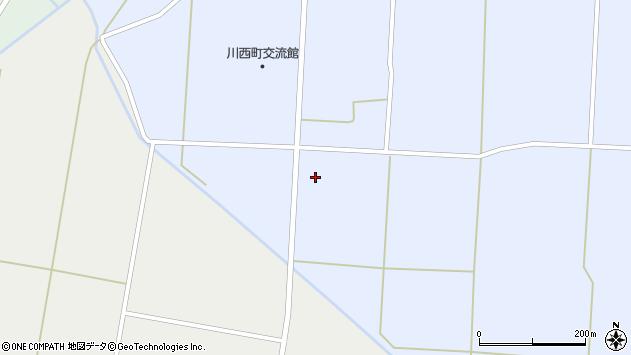 山形県東置賜郡川西町吉田1158周辺の地図