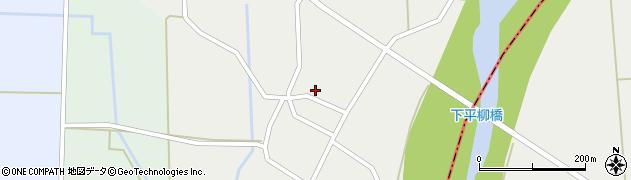 山形県東置賜郡川西町下平柳359周辺の地図