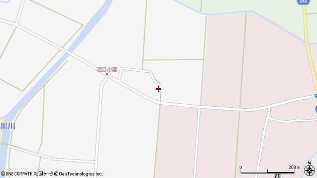 山形県東置賜郡川西町時田2464周辺の地図