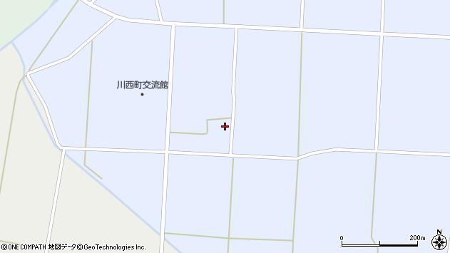 山形県東置賜郡川西町吉田1192周辺の地図