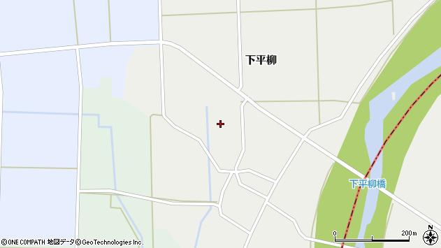 山形県東置賜郡川西町下平柳279周辺の地図