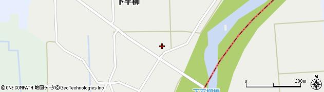 山形県東置賜郡川西町下平柳413周辺の地図