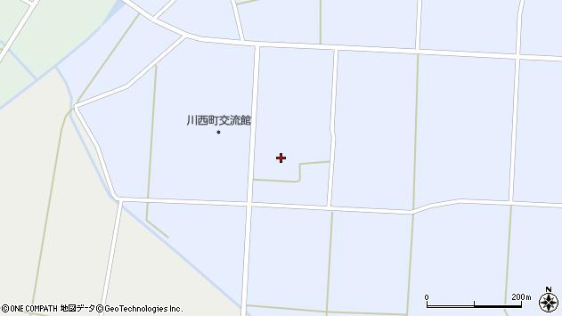 山形県東置賜郡川西町吉田1200周辺の地図