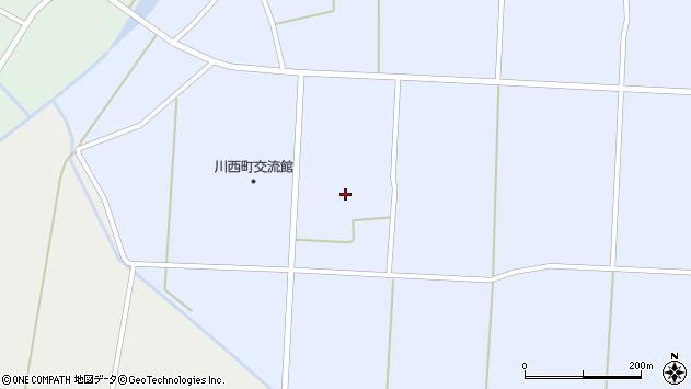 山形県東置賜郡川西町吉田1201周辺の地図