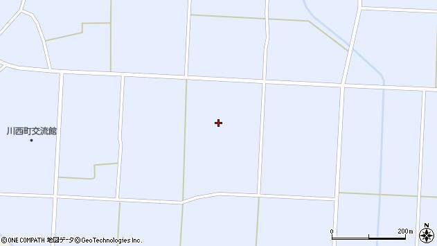 山形県東置賜郡川西町吉田1252周辺の地図