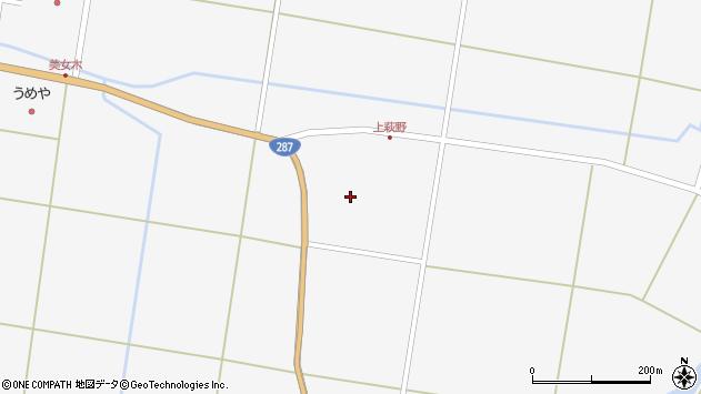 山形県東置賜郡川西町上小松上萩野周辺の地図