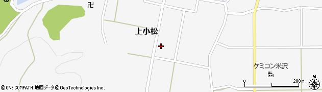 山形県東置賜郡川西町上小松3017周辺の地図