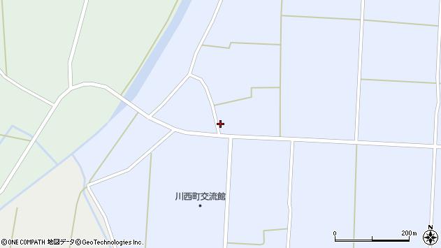 山形県東置賜郡川西町吉田1877周辺の地図