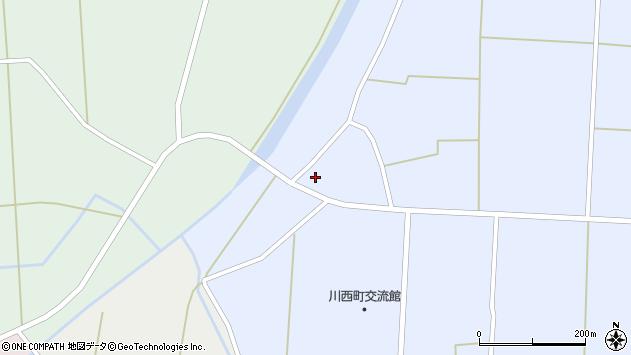 山形県東置賜郡川西町吉田1865周辺の地図