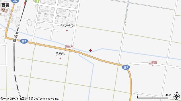 山形県東置賜郡川西町上小松1861周辺の地図