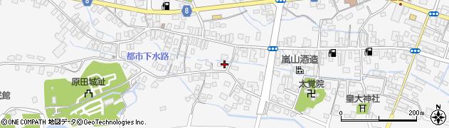 山形県東置賜郡川西町上小松3211周辺の地図