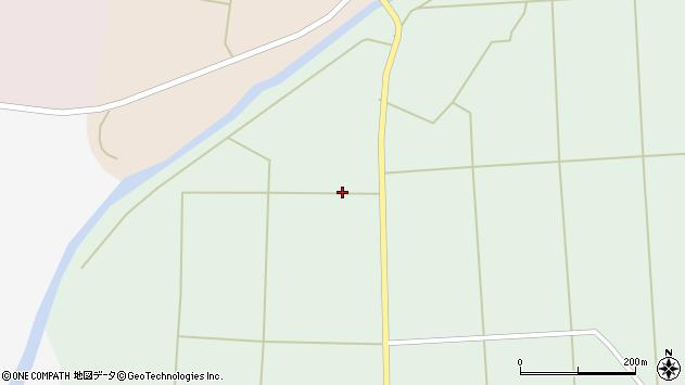 山形県東置賜郡川西町高山318周辺の地図