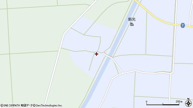 山形県東置賜郡川西町吉田大坊周辺の地図