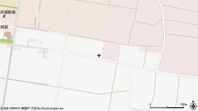 山形県東置賜郡川西町上小松1317周辺の地図