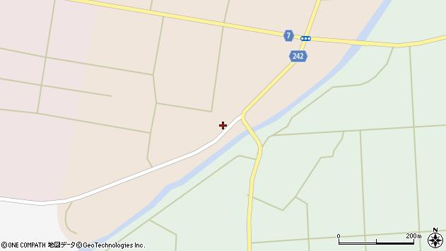 山形県東置賜郡川西町黒川364周辺の地図