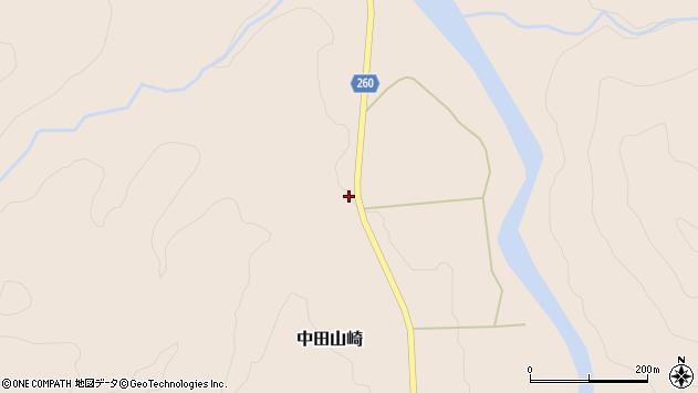 山形県西置賜郡小国町中田山崎141周辺の地図