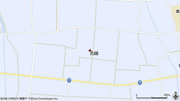 山形県東置賜郡川西町吉田2813周辺の地図