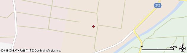山形県東置賜郡川西町黒川452周辺の地図