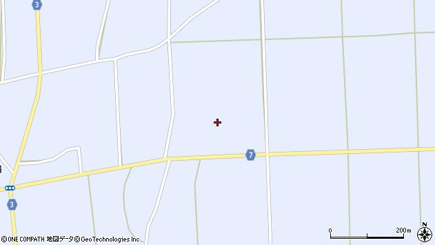 山形県東置賜郡川西町洲島462周辺の地図