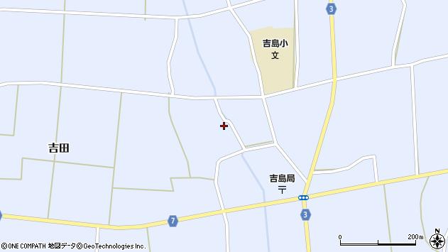 山形県東置賜郡川西町吉田3543周辺の地図
