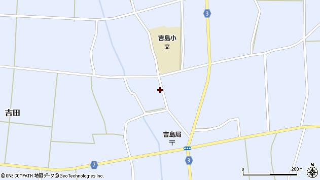 山形県東置賜郡川西町吉田3609周辺の地図